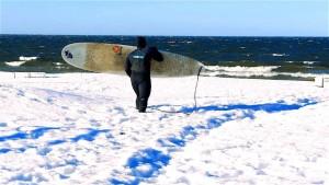 Eiskalter Wellenritt