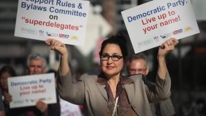 Demokraten ändern Wahlsystem für Kandidaten