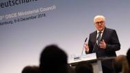 Steinmeier: Friedensordnung ist verletzlich