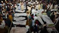 Mehr als 45 Tote nach Selbstmordattentat