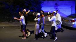 Tribüneneinsturz in Synagoge bei Jerusalem