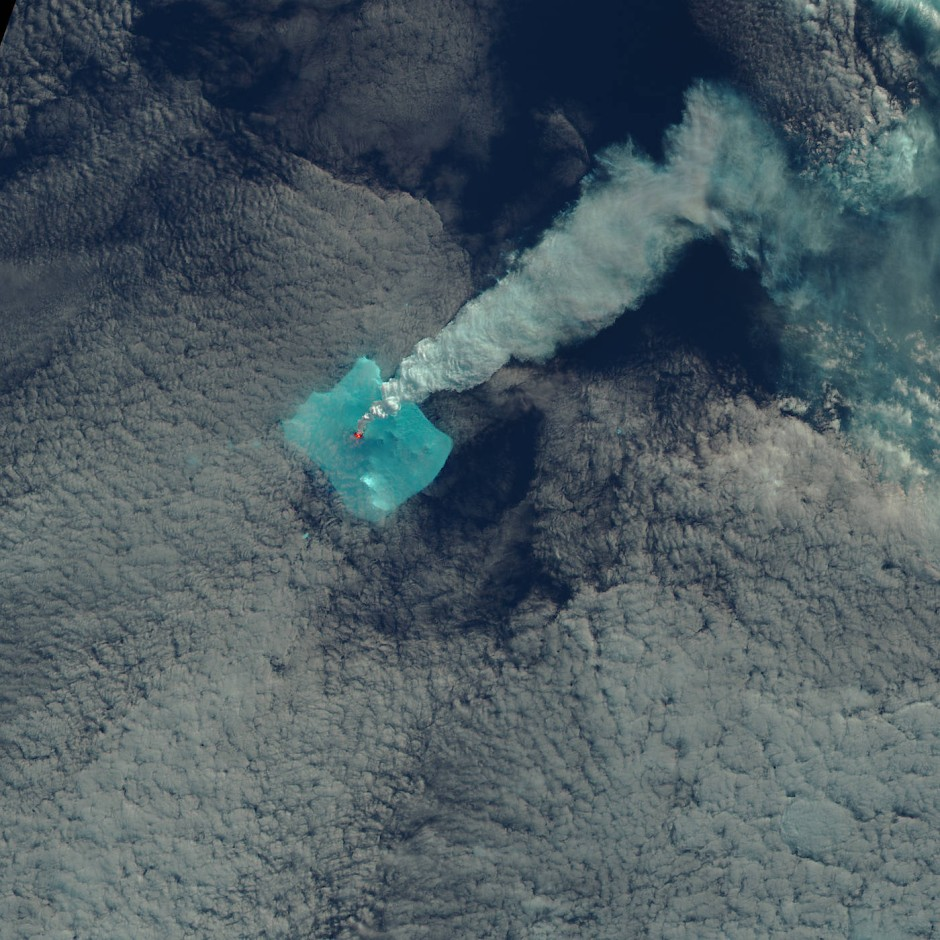 vulkanausbruch auf bristol island