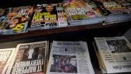 Jetzt kontern amerikanische Zeitungen