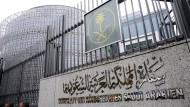 Die saudische Botschaft in Berlin