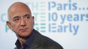 Jeff Bezos will 10 Milliarden Dollar spenden