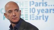 Jeff Bezos auf einer Pressekonferenz im September 2019 in Washington.