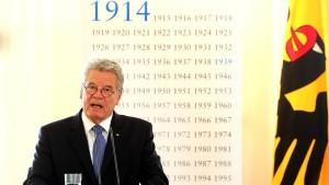 Gauck: Kein Zurück zu einer Politik der Konfrontation