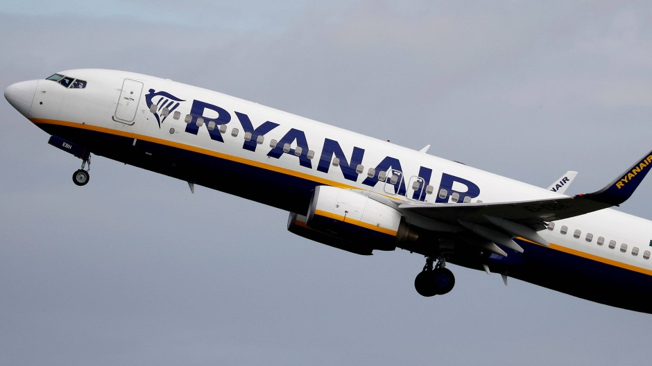 Ryanair-Flugzeug (Archivaufnahme)