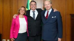 Bolsonaro hat Beatrix von Storch empfangen