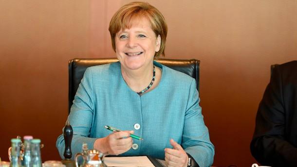Merkel baut Vorsprung aus