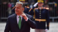 Ungarns Ministerpräsident Viktor Orbán am vergangenen Donnerstag beim EU-Gipfel in Sibiu, Rumänien