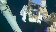 Die ISS bekommt neue Akkus