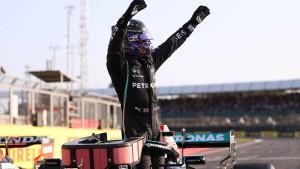 Hamilton vor Verstappen in den Sprint