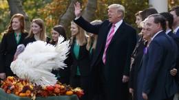 """Trump begnadigt """"Wishbone"""" und """"Drumstick"""""""