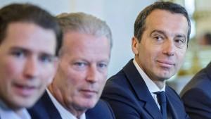 Österreichs Koalition vor Ende mit Schrecken