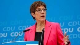 CDU grenzt sich klar von Rechtspopulisten ab