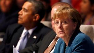Weißes Haus lobt Kanzlerin Merkel