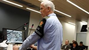 Zeugenaussagen im Breivik-Prozess