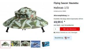 "Revell nimmt ""Nazi-Ufo"" aus dem Verkauf"