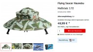 "Das Modell ""Flying Saucer Haunebu"" im Online-Shop des Herstellers Revell"