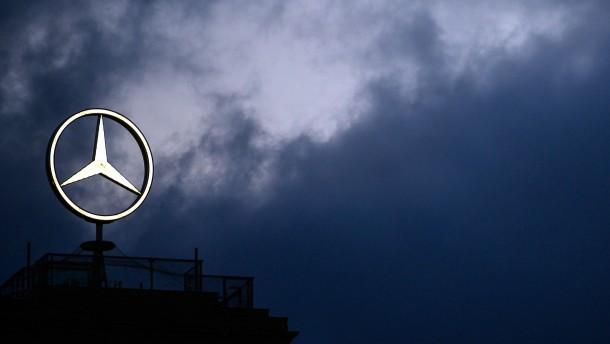 Daimler klagt gegen Diesel-Rückruf