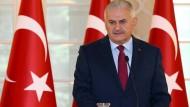 Die Präsidentengarde, eine Elitetruppe, werde nicht mehr gebraucht, sagt der türkische Ministerpräsident Binali Yildirim.