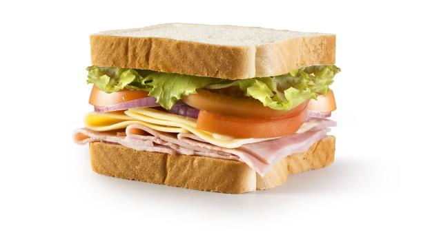 Private Sandwiches dürfen leider nicht einreisen