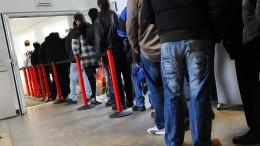 Arbeitslosigkeit auf Tiefstand