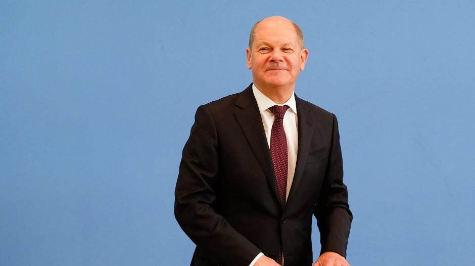Will bei der kommenden Bundestagswahl ein Direktmandat in Potsdam holen: Olaf Scholz (Archivbild)