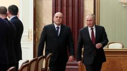 Putins neue Mannschaft
