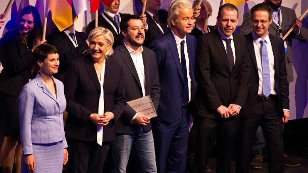 AfD-Chefin Petry sieht Freiheit der Europäer bedroht