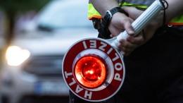 Lkw-Fahrer mit mehr als drei Promille gestoppt