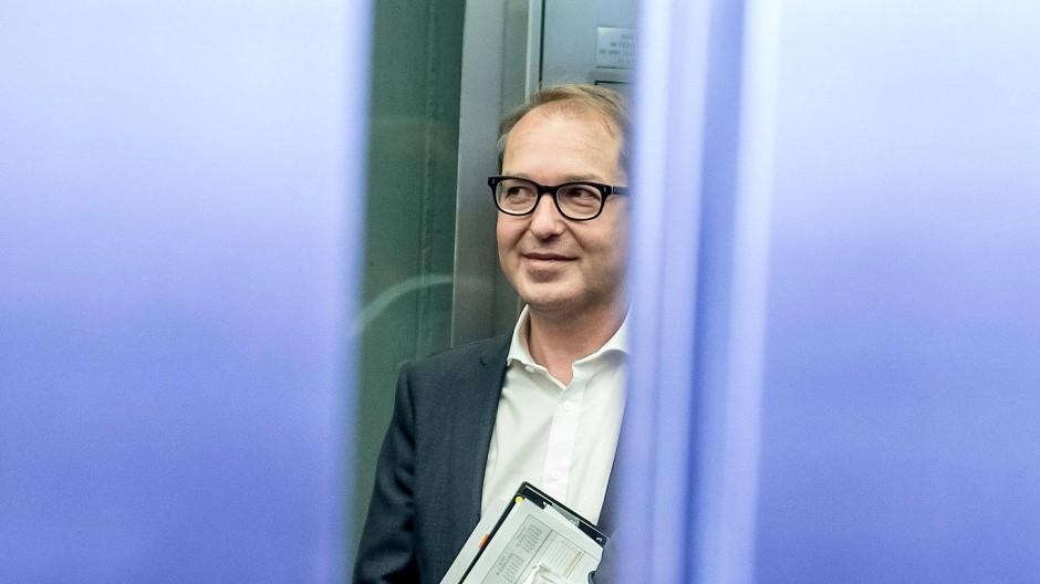Undurchschaubar: CSU-Landesgruppenchef Alexander Dobrindt