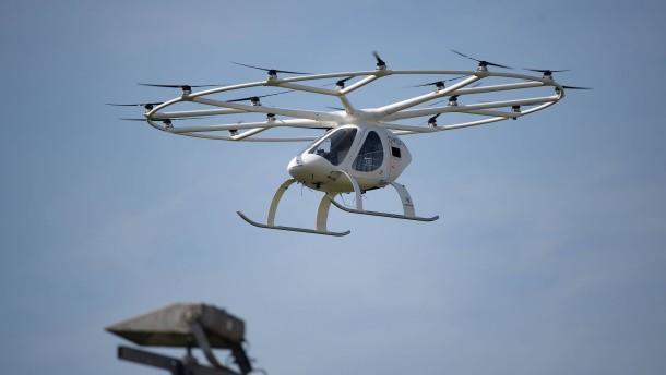 Bund will bei den Drohnen Erster sein