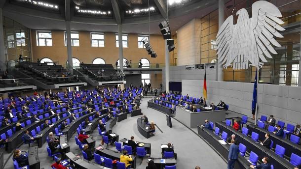 Heftige Debatte im Bundestag