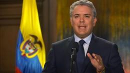 Kolumbiens Präsident reagiert rigoros