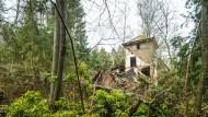 Opel-Villa: Im Jahr 1910 als Jagdhaus erbaut und nun sich selbst überlassen.