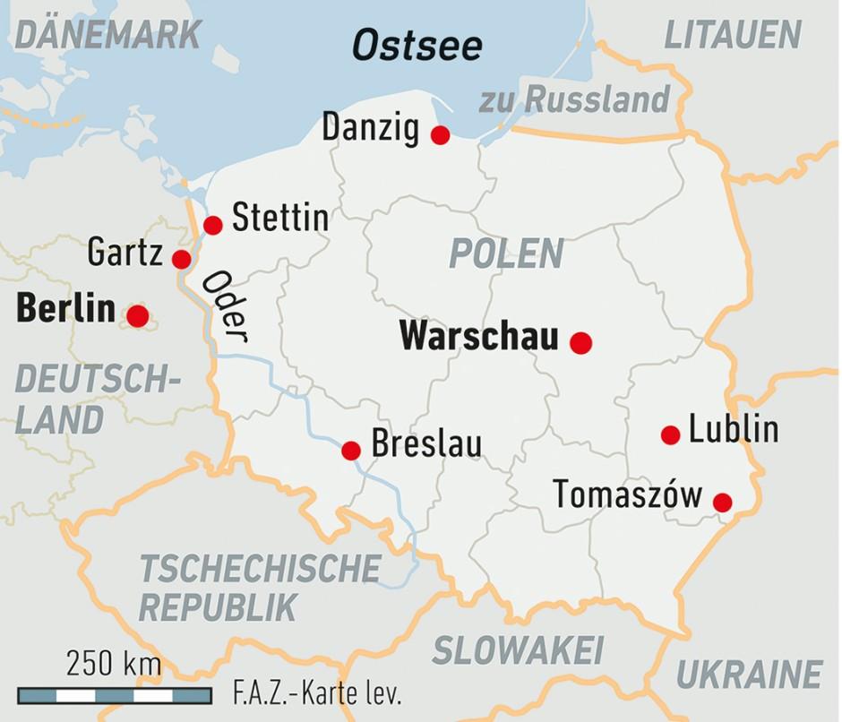 Polenmärkte Karte.Junge Polen Zieht Es Mehr Und Mehr Ins Ausland