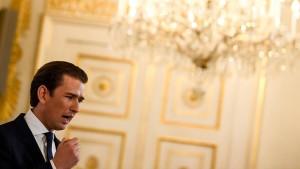 FPÖ will Misstrauensantrag gegen Kurz unterstützen