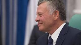 Jordanischer König pocht auf Zweistaatenlösung