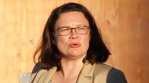 SPD-Spitze stärkt Nahles den Rücken