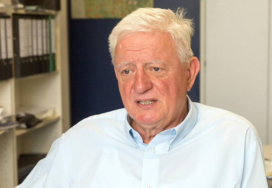 Hans-Volker Happel, Mitbegründer der Integrativen Drogenhilfe, forscht seit 1982 zum Thema Drogen.