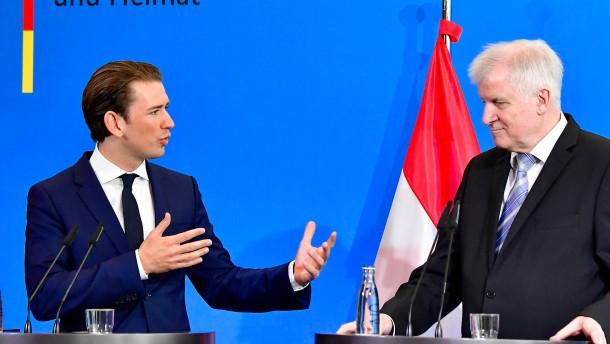 """Seehofer und Kurz: Eine """"Achse der Willigen"""" gegen Merkel"""