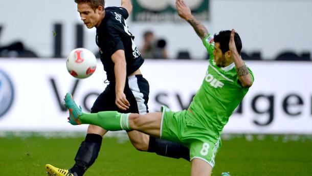 Wolfsburg im freien Fall