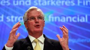 Barnier will Finanzmärkte strenger regulieren