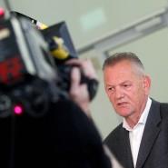 Prozess verloren: der Hinterbliebene Klaus Radner am Landgericht Essen