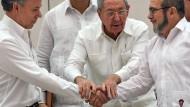 Regierung und Farc-Rebellen schließen Waffenstillstand