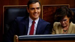 Sánchez mit knapper Mehrheit zum Ministerpräsidenten gewählt