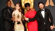 Die Oscar-Gewinner auf einen Blick
