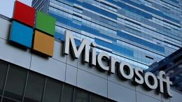 Microsoft nähert sich der Billion